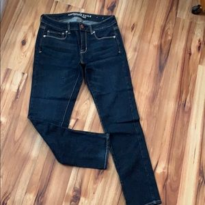 """American eagle jeans"" size 6 dark"